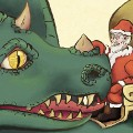 thumbnail of Santa Claus and dragon