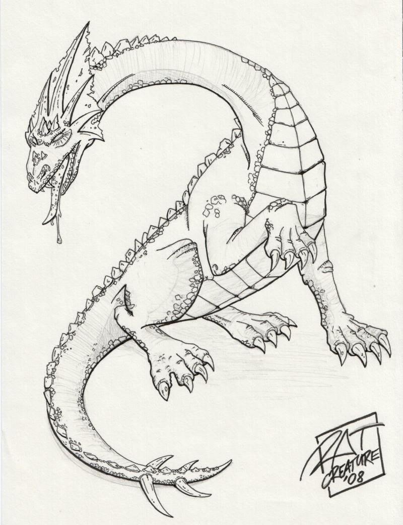 Fantasy Art A Fairly Generic Dragon Ratcreature S Artwork